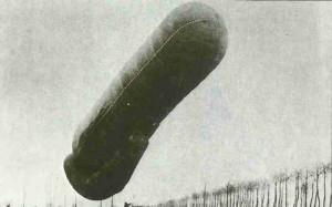Belgischer Drachen-Typ-Beobachtungsballon