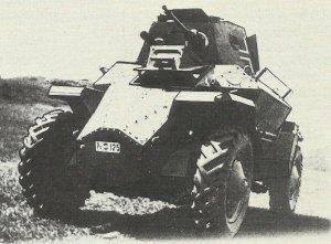 Csaba-Panzerspähwagen