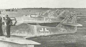 Me 262 beim Erprobungskommando 262
