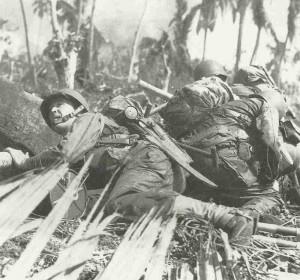 US Soldaten auf Leyte