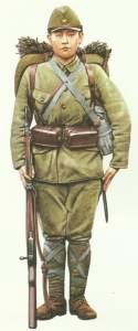 Japanischer Infanterist, 1941