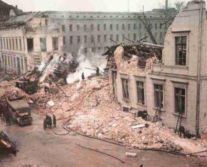 Reichskanzlei nach Luftangriff