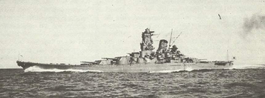 Superschlachtschiff 'Yamato'