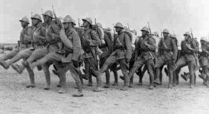 Türkische Soldaten 2. Weltkrieg