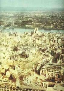 Köln zerbombt