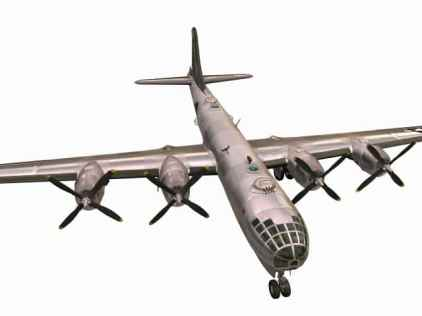 3D-Modell B-29 Superfortress