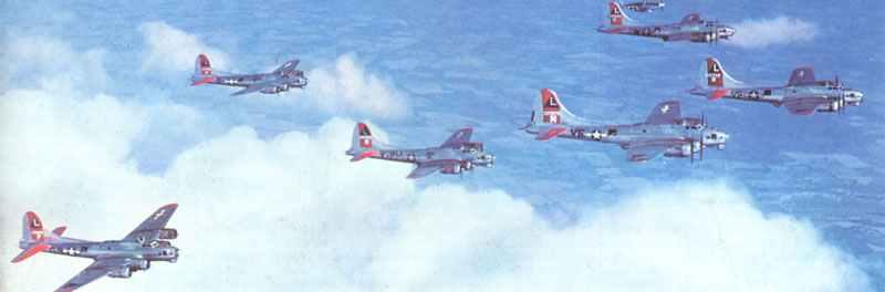 Formation von B-17G