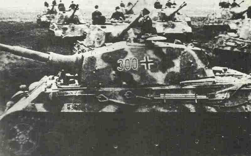 Wehrmacht Kriegsgliederung Nov 1944
