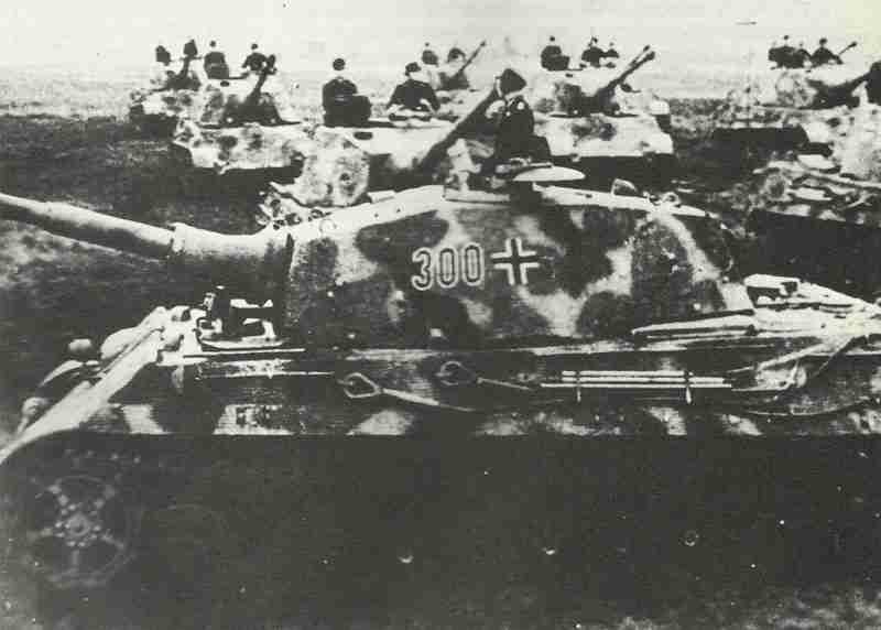 Panzerbataillon mit Königstiger
