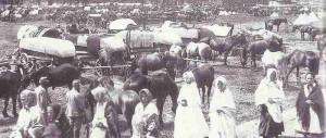 Flüchtlinge in Galizien