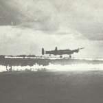 Lancaster landet auf Flugplatz mit Fido