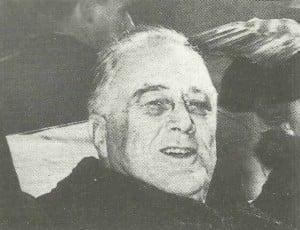 US-Präsident Roosevelt
