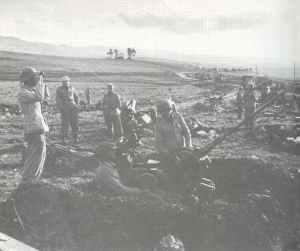 Flak 38 der Luftwaffe in Tunesien