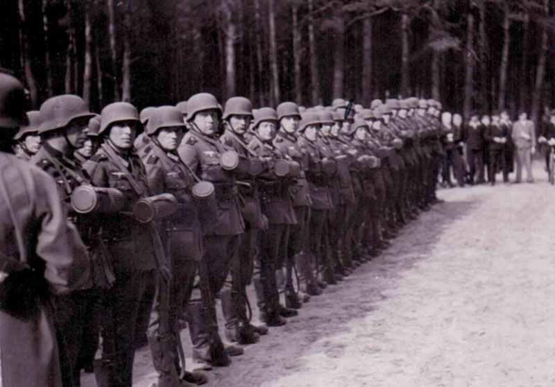 Ausbildung von Wehrmacht-Soldaten
