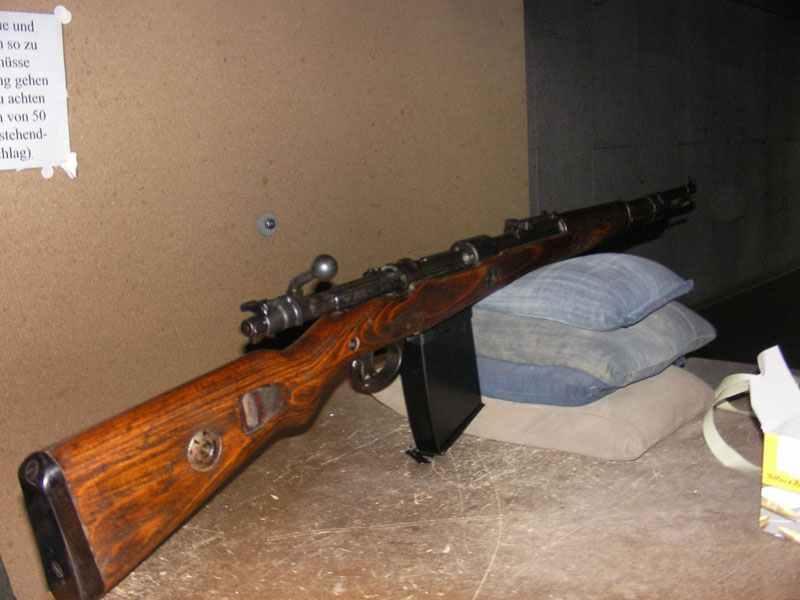 Gewehr 98 mit Grabenmagazin