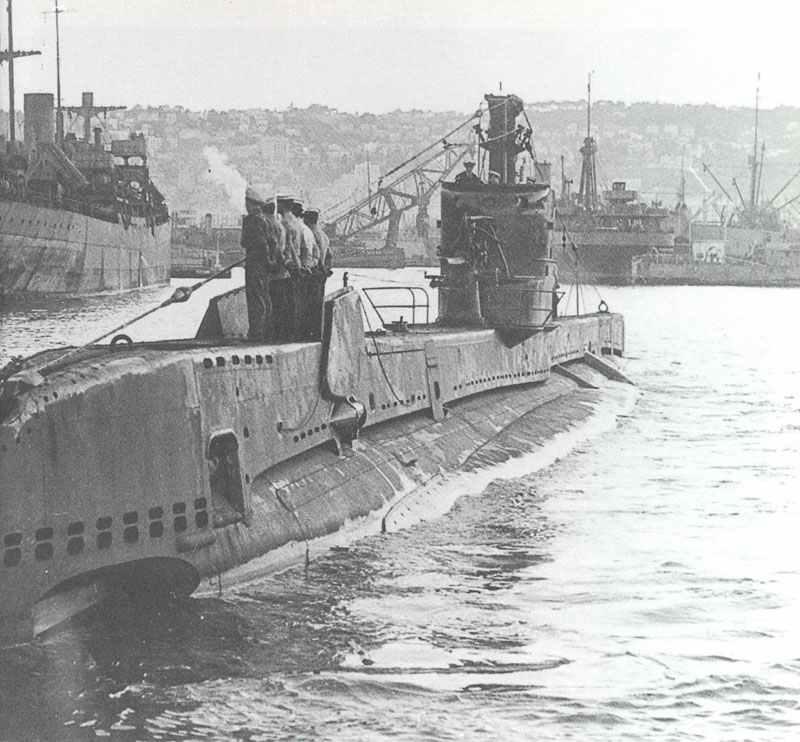 HMS Saracen der 3. Baugruppe der S-Klasse