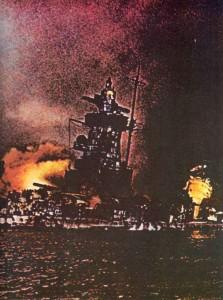 Wrack des Panzerschiff Admiral Graf Spee