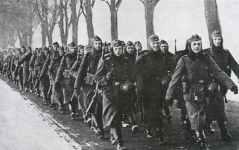 Geländeübung deutsche Kompanie 1939/40