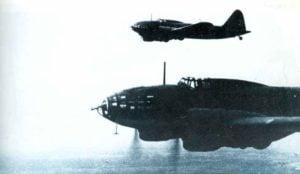 Bomber vom Typ Iljuschin Il-4