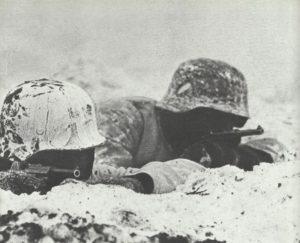 kampfbereite deutsche Soldaten Westwall