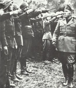 Mussolini im Winter 1944/45