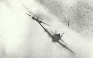 US Jäger hinter Bf 110