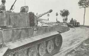 Tiger-Panzer 1. SS-Panzer-Division Normandie