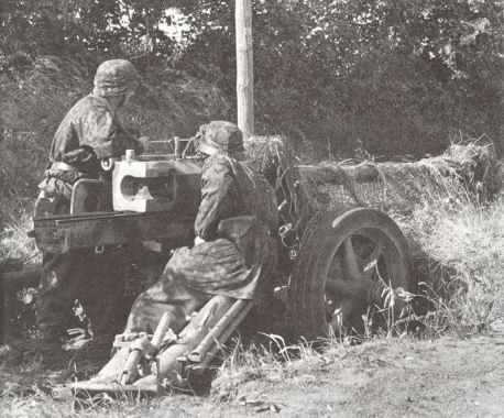 7,5cm Pak40 der 12. SS Hitlerjugend-Division