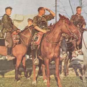 Reiter der 8.SS-Kavallerie-Division Florian Geyer