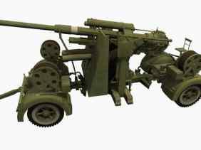 3D-Modell 8,8-cm Flak 36