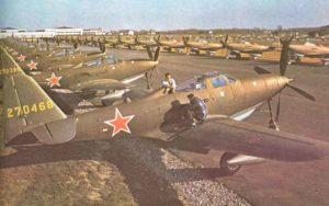 P-39 Kingcobra Lend-Lease Flugzeuge