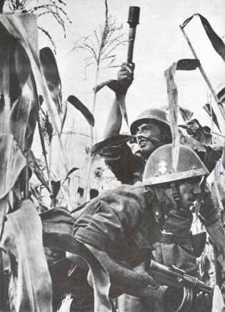 Slowakische Soldaten