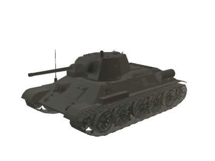 3d-Modell T-34 M43