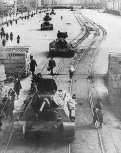 T-34 Fabrik in Leningrad
