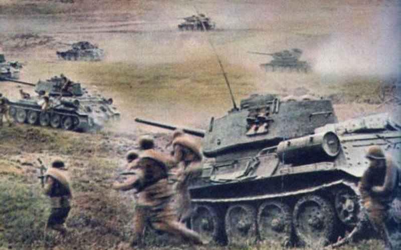 Zahlenvergleich deutscher und russischer Panzer