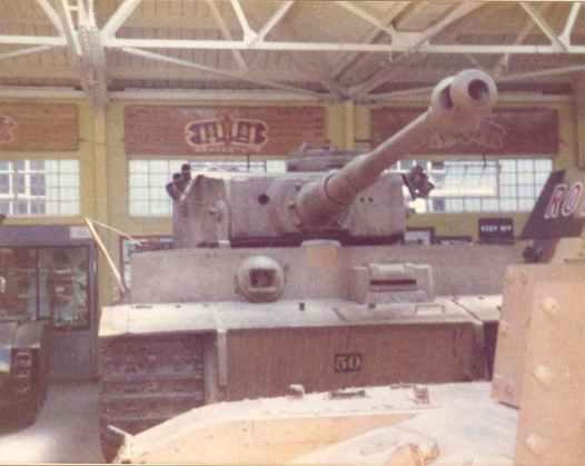 Tiger I im RAC Tank Museum