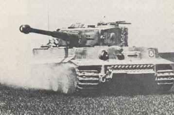 Tiger I der Pz.Abt.502 im Kampfeinsatz