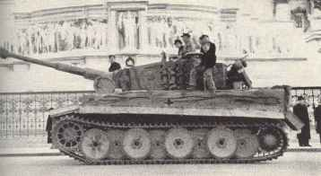 Tiger-Panzer in Rom