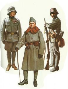 Österreich-ungarische Infanterie 1915-1918