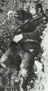 getöteter französischer Soldat
