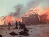 Taktik der verbrannten Erde in Ostpreussen