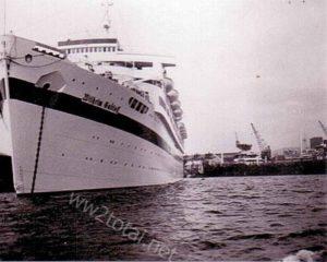Kreuzfahrtschiff Wilhelm Gustloff im Hafen von Oslo