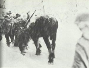 US-Truppen im Winterkrieg in den Ardennen