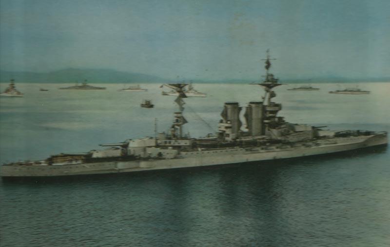 Schlachtschiff 'Barham'