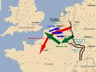 Karte Manstein-Plan