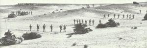 Übung australischer Infanterie