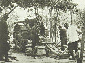 Französische 155-mm-Kanone