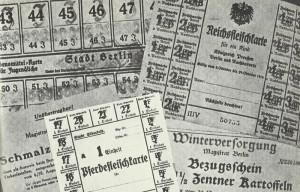 Bezugsscheine für die deutsche Bevölkerung