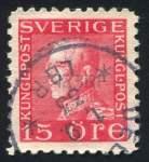 Briefmarke König Gustav von Schweden