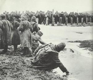 Russische Gefangene Winterschlacht Masuren